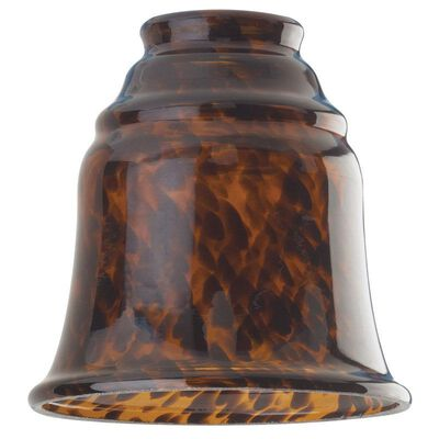 Westinghouse Bell Brown Glass Fan and Fixture Shade 1