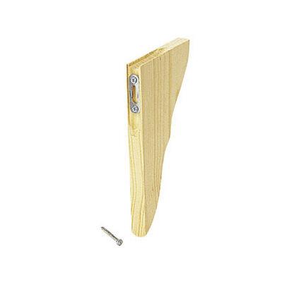Waddell Pine Satin Corbel Shelf Bracket 3 in. L x 1-1/4 in. W x 5 in. H