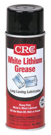 CRC White Lithium Grease 10 oz. Can