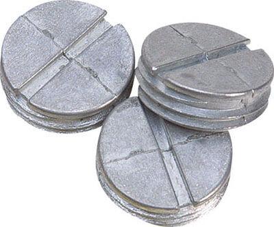 Sigma Round Aluminum Closure Plug For Closure of Unused Box Outlets Gray