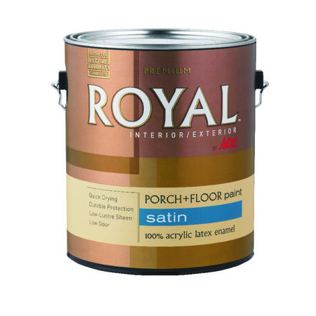 Ace Royal Satin Tint Base Acrylic Latex Porch & Patio Floor Paint 1 gal.
