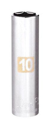 Craftsman 10 Alloy Steel 1/4 in. Drive in. drive Socket Deep