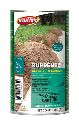 Martin's Surrender Insect Killer For Fire Ants 1 lb.