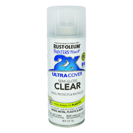 Rust-Oleum Stops Rust Satin White Spray Paint 12 oz.