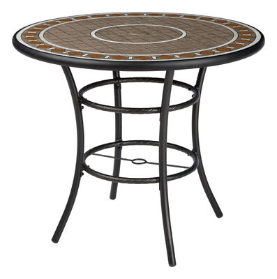 Living Accents Palermo Dining Table Brown