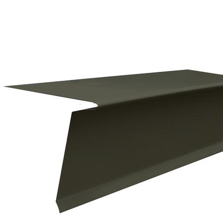 Flamco Eave Strip 26ga Charcoal Bronze