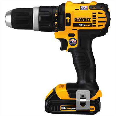 20V MAX* Lithium Ion Compact Hammerdrill Kit (1.5 Ah)