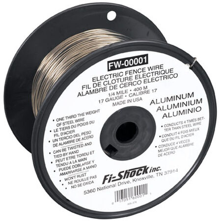 Fi-Shock Electric Electric Fence Wire 1/4