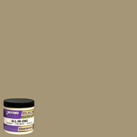 BEYOND PAINT Matte Khaki All-In-One Paint Acrylic 1 pt.