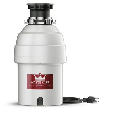 1 HP Continuous Feed Garbage Disposal