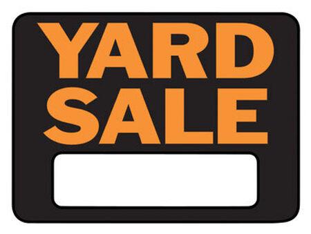 Hy-Ko English 9 in. H x 12 in. W Plastic Sign Yard Sale