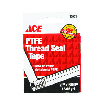 Ace 1/2 in. W x 600 in. L Thread Seal Tape