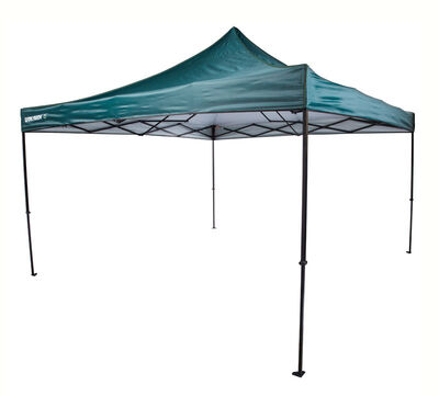 Quik Shade Blue Polyester Canopy 10 ft. H x 12 ft. W x 12 ft. L