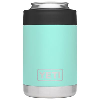 YETI Rambler Colster Stainless Steel Beverage Holder 1 pk Seafoam