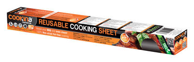 Cookina 15.8 in. W x 19.7 in. L Barbecue Cooking Sheet PTFE Coated Fabric